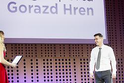 Gorazd Hren, 53. podelitev Bloudkovih priznanj za leto 2017, on February 16, 2018 in Brdo pri Kranju, Kranj, Slovenia. Photo by Ziga Zupan / Sportida