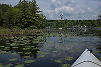 Lake Wickwas kayaking.  ©2016 Karen Bobotas Photographer