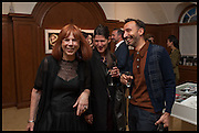 JULES WRIGHT, The wapping project Mayfair opening in Dover St. London. 17 September 2014.