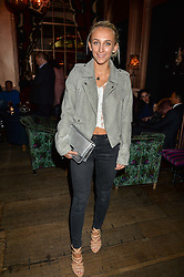 TIFFANY WATSON at a party to celebrate the launch of fashion retailer WeKoko.com held at Sketch, 9 Conduit Street, London on 13th April 2016.