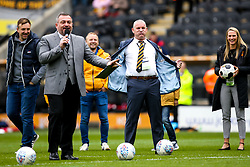 Former Hull City player gestures towards Bristol City fans as they boo him - Mandatory by-line: Robbie Stephenson/JMP - 05/05/2019 - FOOTBALL - KCOM Stadium - Hull, England - Hull City v Bristol City - Sky Bet Championship
