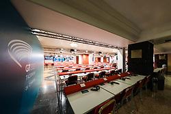 25.05.2017, Giardini Naxsos, ITA, 43. G7 Gipfel in Taormina, im Bild Pressearbeitsraum im Hilton Hotel // Press room at the Hilton Hotel during the 43rd G7 summit in Giardini Naxsos, Italy on 2017/05/25. EXPA Pictures © 2017, PhotoCredit: EXPA/ Johann Groder