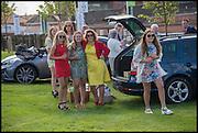 CLEMMIE STROYAN; CELIA BODDY; LARA FAWCETT, ( AS WAS LARA GRYLLS) Ebor Festival, York Races, 20 August 2014