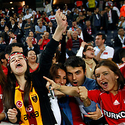 Turkey's Supporters during their FIFA World Cup 2014 qualifying soccer match Turkey betwen Romania at Sukru Saracoglu stadium in Istanbul october 12, 2012. Photo by TURKPIX
