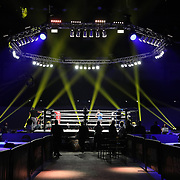 DAYTONA BEACH, FL - SEPTEMBER 11: The ring is setup prior to the Bare Knuckle Fighting Championships between Thiago Alves and Julian Lane at the Ocean Center on September 11, 2020 in Daytona Beach, Florida. (Photo by Alex Menendez/Getty Images) *** Local Caption ***