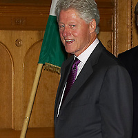 Former US president Bill Clinton visits to Hungary at Parlament. Budapest, Hungary. Saturday, 06. October 2007. ATTILA VOLGYI