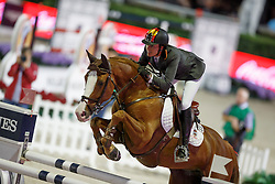 Cordon Pilar, (ESP), Gribouille du Lys, FEI President<br /> Logines Challenge Cup<br /> Furusiyya FEI Nations Cup Jumping Final - Barcelona 2015<br /> © Dirk Caremans<br /> 25/09/15