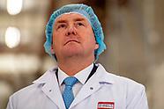 Koning Willem-Alexander brengt een werkbezoek aan twee bedrijven in Brainport Eindhoven.