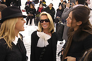 Alice Bamford, Lady Bamford and Elizabeth Saltzman. Chanel couture fashion show. Grand Palais, Ave Winston Churchill. Paris. 24  January  2006.  ONE TIME USE ONLY - DO NOT ARCHIVE  © Copyright Photograph by Dafydd Jones 66 Stockwell Park Rd. London SW9 0DA Tel 020 7733 0108 www.dafjones.com