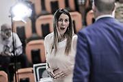 DESCRIZIONE : Campionato 2014/15 Serie A Beko Dinamo Banco di Sardegna Sassari - Grissin Bon Reggio Emilia Finale Playoff Gara4<br /> GIOCATORE : Alice Pedrazzi<br /> CATEGORIA : Ritratto Before Pregame<br /> SQUADRA : RAi TV<br /> EVENTO : LegaBasket Serie A Beko 2014/2015<br /> GARA : Dinamo Banco di Sardegna Sassari - Grissin Bon Reggio Emilia Finale Playoff Gara4<br /> DATA : 20/06/2015<br /> SPORT : Pallacanestro <br /> AUTORE : Agenzia Ciamillo-Castoria/L.Canu