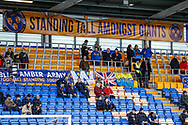 First all standing area in the new era during the EFL Sky Bet League 1 match between Shrewsbury Town and AFC Wimbledon at Greenhous Meadow, Shrewsbury, England on 2 March 2019.