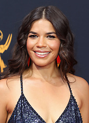 America Ferrera arriving for The 68th Emmy Awards at the Microsoft Theater, LA Live, Los Angeles, 18th September 2016.