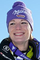 22.01.2011, Tofana, Cortina d Ampezzo, ITA, FIS World Cup Ski Alpin, Lady, Cortina, Abfahrt, im Bild Maria Riesch (GER, #18, Platz 1) // Maria Riesch (GER, place 1) during FIS Ski Worldcup ladies Downhill at pista Tofana in Cortina d Ampezzo, Italy on 22/1/2011. EXPA Pictures © 2011, PhotoCredit: EXPA/ J. Groder