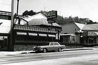1973 Cyrano Restaurant on Sunset Blvd.