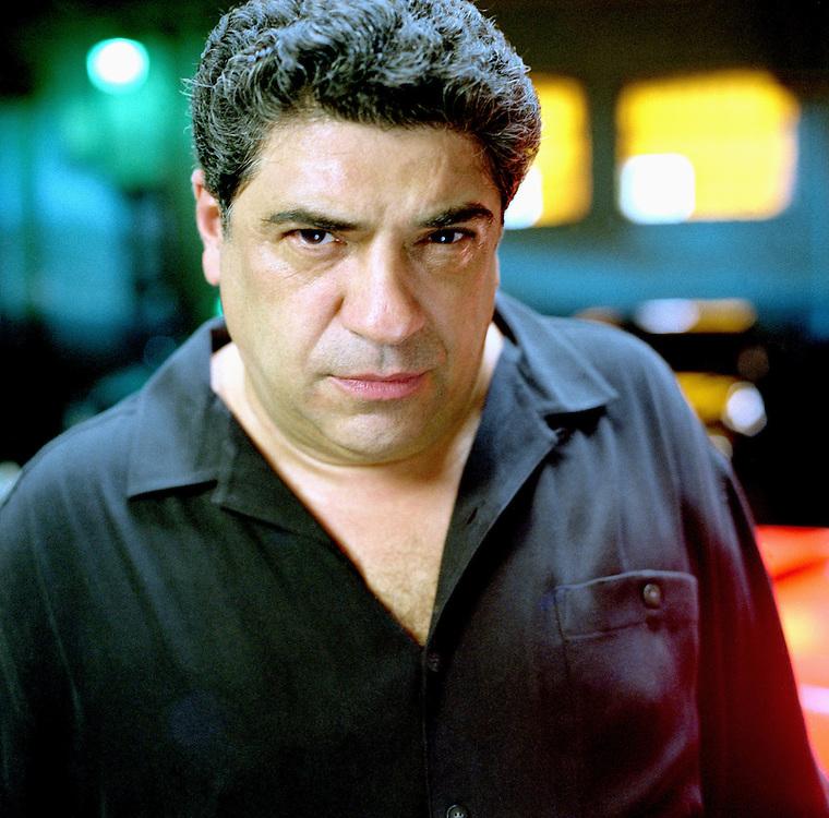 Vincent Pastore; Vincent Pastore, January 1, 2001  (Photo by Andrew Edelman/Contour by Getty Images)