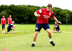 Frank Fielding is put through his paces as Bristol City return to training ahead of their 2017/18 Sky Bet Championship campaign - Mandatory by-line: Robbie Stephenson/JMP - 30/06/2017 - FOOTBALL - Failand Training Ground - Bristol, United Kingdom - Bristol City Pre Season Training - Sky Bet Championship