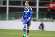 Kristijan Stanic of Bosnia and Herzegovina (9) during the UEFA European Under 17 Championship 2018 match between Bosnia and Republic of Ireland at Stadion Bilino Polje, Zenica, Bosnia and Herzegovina on 11 May 2018. Picture by Mick Haynes.