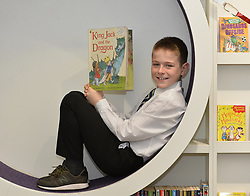 10 year old Jack Shepherd from Penicuik celebrates the fact the name Jack has proved to be the most popular boys name in 2017 for the tenth year running.<br /> <br /> (c) Dave Johnston / Eem