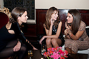 FRAN HICKMAN; CAROL SIEBER; MARGHERITA MISSONI, - IMG HERALD TRIBUNE HERITAGE LUXURY PARTY.- Celebration of Heritage Luxury and 10 years of the International Herald Tribune Luxury Conferences. North Audley St. London. 9 November 2010. -DO NOT ARCHIVE-© Copyright Photograph by Dafydd Jones. 248 Clapham Rd. London SW9 0PZ. Tel 0207 820 0771. www.dafjones.com.