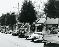 1977 Kipling's Flower Shop & other stores on Larchmont Blvd.