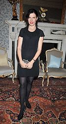 Ronni Ancona at a party to celebrate the publication of Gosling - Classic Design for Contemporary Interiors by Tim Gosling held at William Kent House, The Ritz Hotel, London on 1st October 2009.