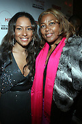 """l to r: Valiesha Butterfield, and Marilyn Crawford at The Russell Simmons and Spike Lee  co-hosted""""I AM C.H.A.N.G.E!"""" Get out the Vote Party presented by The Source Magazine and The HipHop Summit Action Network held at Home on October 30, 2008 in New York City"""