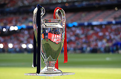 File photo dated 01-06-2019 of A general view of the Champions League trophy Europe's clubs are set to have a much bigger say in commercial deals around the new-look Champions League. European football's governing body announced on Tuesday night it was starting the tender process for a new partner to sell the rights to its men's club competitions for the 2024-27 cycle. Issue date: Tuesday October 12, 2021.