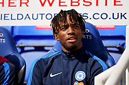 Peterborough United forward Ivan Toney (17) before the EFL Sky Bet League 1 match between Peterborough United and Luton Town at London Road, Peterborough, England on 18 August 2018.