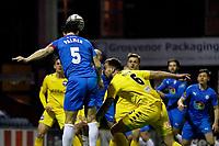 Ash Palmer. Stockport County FC 3-0 Eastleigh FC. Vanarama National League. Edgeley Park. 23.3.21