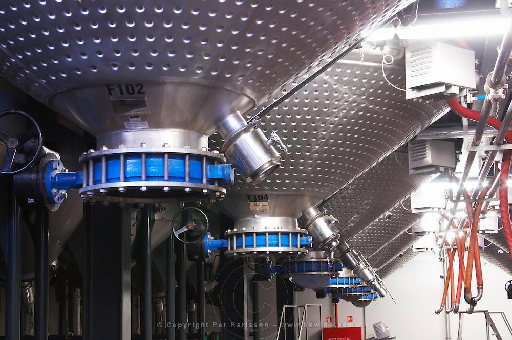 stainless steel tanks quinta do seixo sandeman douro portugal
