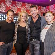 NLD/Amsterdam/20190228 - Opening Holland Zingt Hazes 2019 Backstage Cafe, Jeroen van der Boom, Samantha Steenwijk, Roxanne Hazes en Danny de Munk
