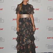 Vogue Matthews attends the British Takeaway Awards, in association with Just Eat at London's Savoy Hotel on 12 November 2018, London, UK.