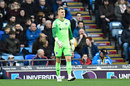 Craig MacGillivray (1) of Portsmouth during the EFL Sky Bet League 1 match between Portsmouth and Ipswich Town at Fratton Park, Portsmouth, England on 21 December 2019.