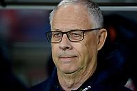 Fotball , 26. mars 2019 , EM-kvalifisering , Euro Qual.<br /> Norge - Sverige<br /> Norway - Sweden<br /> Lars lagerback , trener Norge<br /> Lars Lagerbäck