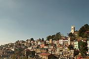 View of Shimla town, Himachal Pradesh, India