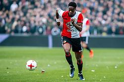 25-02-2017 NED: Feyenoord - PSV, Rotterdam<br /> 24e speelronde van seizoen 2016-2017, De Kuip / Terence Kongolo #4 of Feyenoord