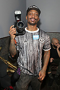 NEW YORK, NEW YORK- FEBRUARY 4: Photographer Mel D. Cole backstage as THE ROOTS perform the last show at the current Highline Ballroom on February 4, 2019 in New York City.  (Photo by Terrence Jennings/terrencejennings.com)
