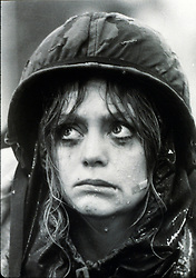 RELEASE DATE: October 10, 1980<br /> MOVIE TITLE: Private Benjamin<br /> STUDIO: Warner Bros.<br /> DIRECTOR: Howard Zieff<br /> PLOT: A sheltered young high society woman joins the army on a whim and finds herself in a more difficult situation than she ever expected<br /> PICTURED: GOLDIE HAWN as Pvt. Judy Benjamin - Judy Goodman<br /> (Credit Image: © Warner Bros./Entertainment Pictures/ZUMAPRESS.com)