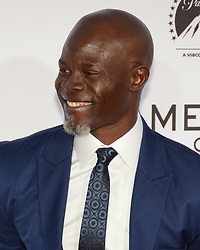 October 12, 2017 - Los Angeles, California, USA - DJIMON HOUNSO appears on the Red Carpet for the 'Same Kind Of Different As Me' Los Angeles Premiere at the Westwood Village Theatre. (Credit Image: © Billy Bennight via ZUMA Wire)