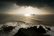 Ever since a kid I have loved Cape Cornwall and the vast sense of space you experience from the hill-top. Waves that would swamp a small fishing boat seem relatively harmless from this height but the fact they have travelled hundreds of miles of ocean is still quite intimidating.