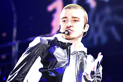 Justin Timberlake first UK Concert takes place at the Hallam FM Arena in Sheffield to a Sell out Crowd of over 11,000 people <br /> <br /> Copyright Paul David Drabble<br /> 6th May 2003