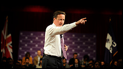 Prime Minister David Cameron during a Q&A at the New York University, Thursday March 15, 2012 . Photo By Andrew Parsons/ i-Images