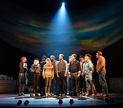 Edinburgh, Scotland, UK. 13 March, 2019.  Photo call of World Premiere of Local Hero stage adaptation at Royal Lyceum Theatre in Edinburgh. Musical adaptation written by Bill Forsyth and David Grieg with new music by Mark Knopfler, directed by John Crowley. - Editorial Use Only