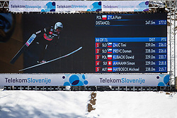 Piotr Zyla (POL) reacts during the Trial Round of the Ski Flying Hill Individual Competition at Day 1 of FIS Ski Jumping World Cup Final 2019, on March 21, 2019 in Planica, Slovenia. Photo by Vid Ponikvar / Sportida