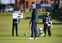 Golf - 2021 Alfred Dunhill Links Championship - Day Four - The Old Course at St Andrew's - Day Four -  Sunday 3rd October 2021<br /> <br /> Eddie Pepperell on the 17th green <br /> <br /> Credit: COLORSPORT/Bruce White