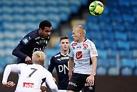 Fotball , 18. mars 2017 ,  Privatkamp , Strømsgodset - Sogndal<br /> Marko Tagbajumi  , SIF<br /> Taijo Teniste , Sogndal