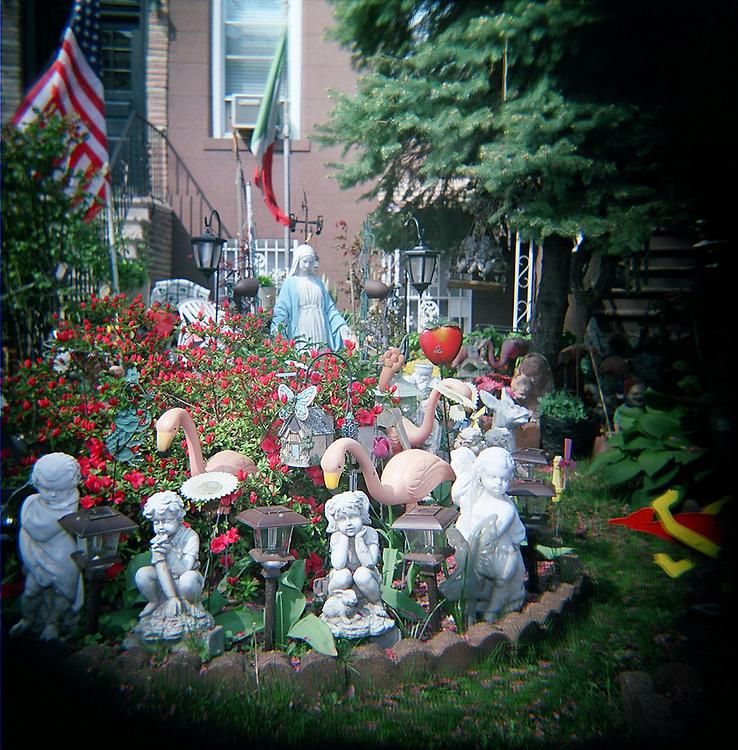 Front yard, Carroll Gardens, Brooklyn, 2008