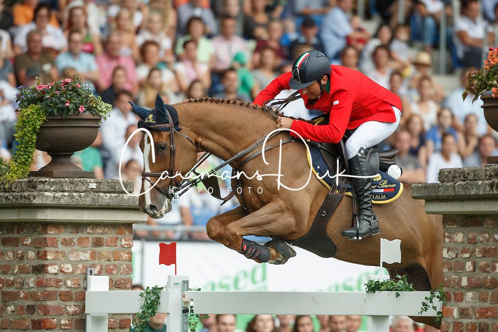 Bucci Piergiorgio, (ITA), Catwalk Z<br /> Individual Final Competition round 2<br /> FEI European Championships - Aachen 2015<br /> © Hippo Foto - Dirk Caremans<br /> 23/08/15