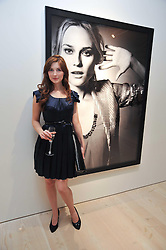 Actress EMMA HAMILTON at an exhibition of photographic portraits by Bryan Adams entitled 'Hear The World' at The Saatchi Gallery, King's Road, London on 21st July 2009.