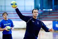 Uros Zorman at practice of Slovenian Handball Men National Team, on June 4, 2009, in Arena Kodeljevo, Ljubljana, Slovenia. (Photo by Vid Ponikvar / Sportida)